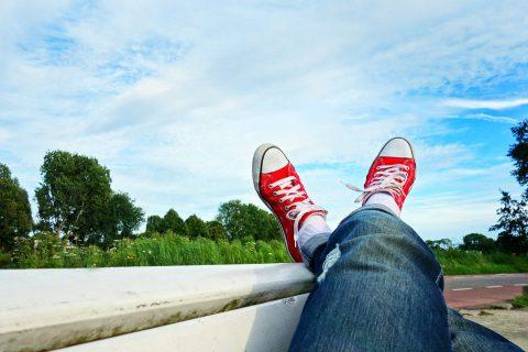 Stress tip ode aan luiheid